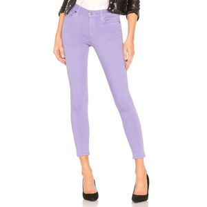 7 For All Mankind The Mid Rise Cropped Skinny Jean
